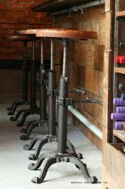 【DULTON】ダルトン アンティーク風 バー スツール BAR STOOL 木製 ウッド アンティーク風 スツール 椅子 イス いすS245-86ABK 【送料無料】