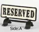 【DOULTON】ダルトン リバーシブル サイン スタンド RESERVED REVERSIBLE SIGN STAND RESERVED