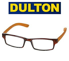 5%OFFクーポン配布中 DULTON ダルトン 老眼鏡 リーディンググラス / YGF71BOR ブラウン オレンジ BROWN/ORANGE スクエアタイプ READING GLASSES 男性用 女性用 男性におすすめ おしゃれ シニアグラス 老眼鏡 YGF71BOR