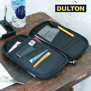 パスポートカバー ダルトン DULTON マルチ パーパス パスポート ケース パスポートケース ブラック 黒色 ポーチ 無地 K955-1261 海外旅行用品|貴重品ケース|セキュリティケース|パスポートケース