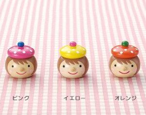 キンダーシュピール 乳歯入れ 女の子 / ピンク イエロー オレンジ 乳歯入れ 乳歯ケース