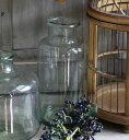 リサイクルガラス フラワーベース CLASSICAL GLASS LKDT1010 フラワーベース 木 花 フラワー