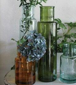 リサイクルガラス フラワーベース クアトロ VALENCIA RECYCLE GLASS CUATRO フラワーベース/木/花/フラワー/フラワーグラス/花瓶 ガラス/ガラスベース/シンプル/おしゃれ 置物/北欧/花器/インテリア雑貨/インテリア