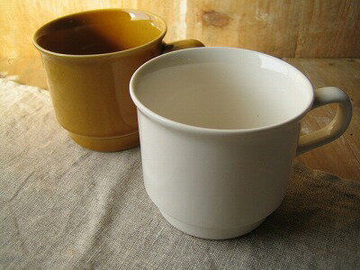 スタジオエム(スタジオM) ロティ マグ ホワイト/アメ 白 マグカップ 陶器 日本製