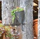 アンティーク風 ティンハンギング漏斗A 壁掛けプランター ガーデン 雑貨 ハンギング ポット 漏斗 ろうと じょうご ガ…