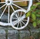 アンティーク風 ウォールデコレーション 車輪 木製 ガーデン雑貨 ナチュラル雑貨