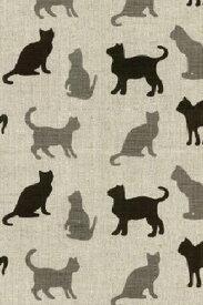 キッチンタオル ハーフリネン cat キッチンクロス キッチンワイプ 布巾 ふきん 台拭きスポンジワイプ 【あす楽対応】