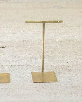 ブラス アクセサリー スタンド S 8.5cm Horn Please 志成販売【あす楽対応】
