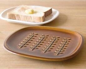 トウジキトンヤ TOJIKI TONYA トーストプレート アメ ホワイト パンメゾン ブレッドトレイ 中皿 パン皿 食器 キッチン かわいい おしゃれ【あす楽対応】