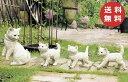 ガーデンオーナメント ファミリーキャット 4匹セット 猫 ねこ ネコ cat キャット ガーデンマスコット ガーデニング 置…