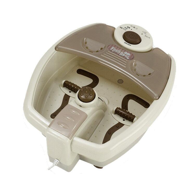 アルインコ ALINCO フットリラモカ MCR7914 フットバブ後継 簡単足湯アシスト 足裏マッサージャー 健康器具 (代引きOK)