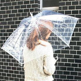 ビニール傘 50cm 新品 60本セット 透明傘 使い捨て 骨組み8本 かさ カサ 雨傘 梅雨 業務用 まとめ買い 店舗用 法人向け 部備品 (代引きOK)