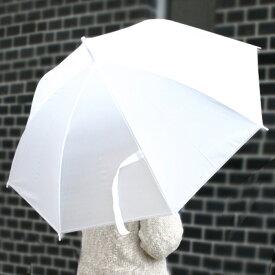 ビニール傘 50cm 新品 60本セット 乳白色 使い捨て 骨組み8本 かさ カサ 雨傘 梅雨 業務用 まとめ買い 店舗用 法人向け 部備品 (代引きOK)
