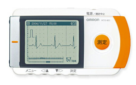 携帯型心電計 HCG-801 オムロン