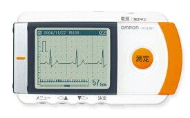 携帯型心電計 HCG-801 オムロン【条件付返品可】