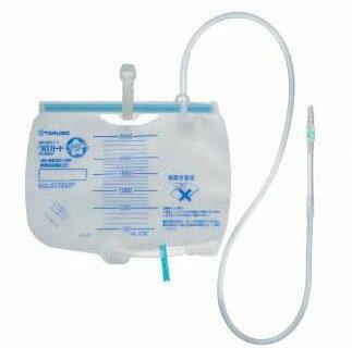 閉鎖式導尿バッグ ウロガードプラス 5セット/箱 2500ml UD-BE3112P 新鮮尿採取口・逆流防止弁付 テルモ【条件付返品可】