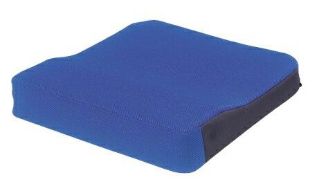 シーポス(車いす用クッション) 幅40cmx長さ40cmx厚さ5cm(最厚部7cm) ブルー 1個 MSPBL モルテン【条件付返品可】