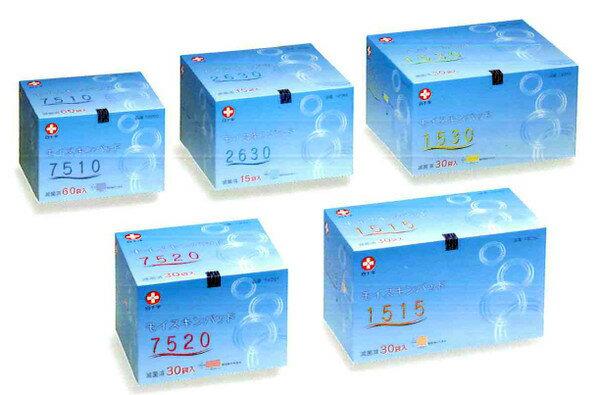 モイスキンパッド1515(滅菌済) 30袋入 外科用パット 15cmx15cm 19082 白十字【条件付返品可】