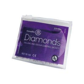 ダイヤモンド 消臭・吸収ゲル化剤 携帯用 420792 1袋5個入り コンバテック【返品不可】
