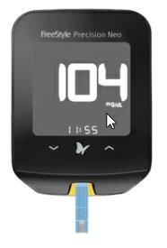 フリースタイルプレシジョンネオ 71386-80 本体のみ 血糖値測定器 アボットジャパン【返品不可】