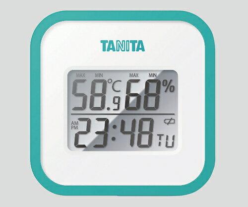 デジタル温湿度計 ブルー TT-558 1個【条件付返品可】