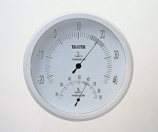 温湿度計 TT-492(ホワイト) 1台【条件付返品可】