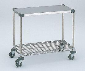ワーキングテーブル1型 911x461x815mm φ100 NWT1B-S 1台 【大型商品】【同梱不可】【代引不可】【返品不可】