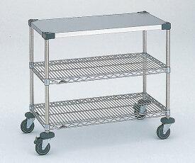 ワーキングテーブル2型 1213x614x815mm φ100 NWT2F-S 1台 【大型商品】【同梱不可】【代引不可】【返品不可】