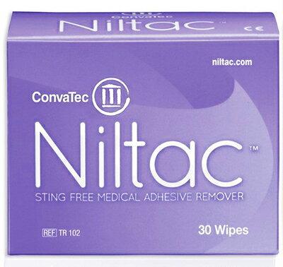 ニルタックワイプ 粘着剥離剤 420788 30枚入 コンバテック【条件付返品可】