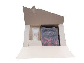 ジルスチュアート ギフトセット ハンドクリーム&ショート ソックス グレー(靴下)セット