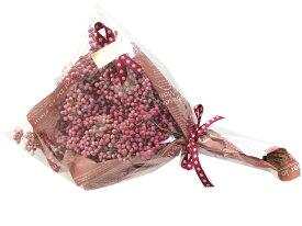 ドライフラワー ペッパーベリー ピンクペッパー ペッパーツリーの実 花束