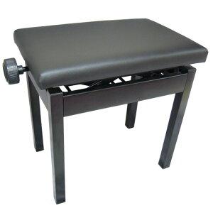 【送料無料】ピアノ椅子 小型黒色 AP-BK 角形 高低自在 電子ピアノに最適ピアノイス