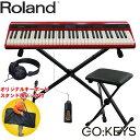 Roland ローランド 電子キーボード GO:KEYS (キーボードチェア・キーボードスタンド・ヘッドフォン付き)【ラッキー…