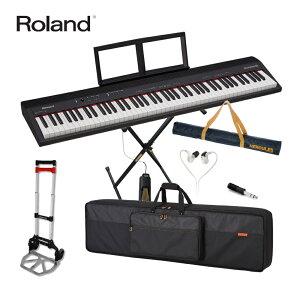【送料無料】持ち運び楽々■Roland ローランド 電子キーボード GO PIANO 88 (折りたたみキーボードスタンドセット)