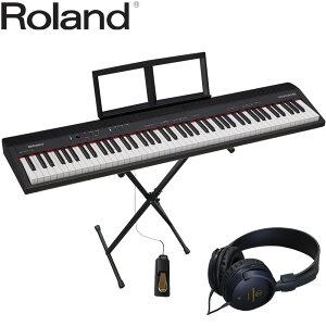 【送料無料】ローランド 88鍵盤 電子キーボード GO PIANO88 X型キーボードスタンド付セット