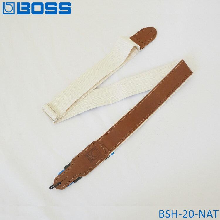 在庫あり■BOSS ギターストラップ BSH-20-NAT ボス【メール便送料無料】【ラッキーシール対応】