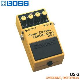 【ポイント8倍】在庫あり【送料無料】BOSS オーバードライブ/ディストーション OS-2 OverDrive/Distortion ボスコンパクトエフェクター