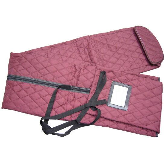 琴袋(箏袋)長いタイプ:エンジ色