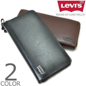 【全2色】 Levi's リーバイス ラウンドジップ ウォレット 長財布 メンズ レディース