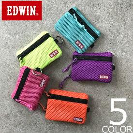 【全5色】 EDWIN エドウィン コンパクトウォレット 財布 小銭入れ コインケース 小さい財布 メンズ レディース 男女兼用