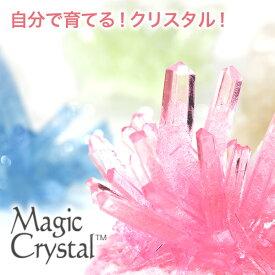マジッククリスタル 10日で育つ不思議なクリスタル Magic Crystal 手作りキット 自由研究 巣ごもりグッズ 工作 【Merry House】