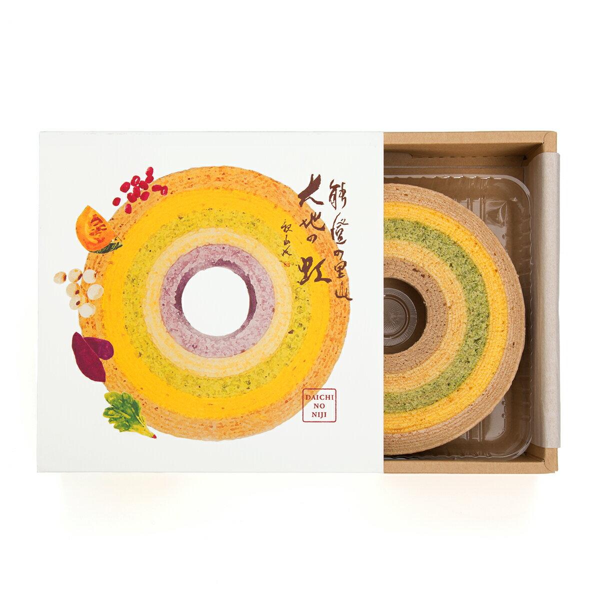 能登の里山 【大地の虹】バウムクーヘン