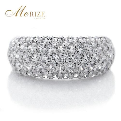 """pt900 ダイヤ パヴェ 1.0ct UP プラチナ リング """"Celebrity Elisabeth"""" - 贅沢の極み、パヴェの最高峰。たっぷり プラチナ900 に1.0キャラット以上の 天然 ダイヤモンド を惜しみなくセット。一生に1度はこの輝きを。"""