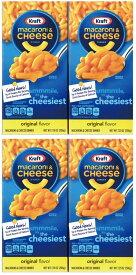 クラフト マカロニ&チーズ チーゼストオリジナル 206g × 4個セット
