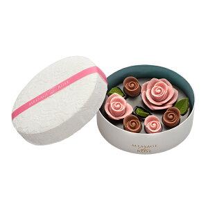 薔薇 バラ チョコ ギフト 贈り物 バレンタイン お正月 誕生日 お祝い お返し 結婚 手土産 綺麗 おしゃれ かわいい メサージュ・ド・ローズ ロズレ ロゼ