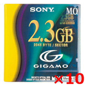SONY 3.5インチ 2.3GB MOディスク 10枚セット 3.5型 ソニー 【送料無料】