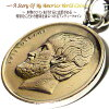 ギリシャ世界のコインコインネックレスコインペンダントコインネックレス世界の本物のコイン硬貨【ギリシャ5ドラクマ】で作られたアンティークコインネックレス【コイン直径2.2cm】(留め輪金具のみシルバー925製)ステンレスチェーン付属