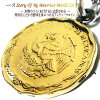 メキシコ世界のコインコインネックレスコインペンダントコインネックレス世界の本物のコイン硬貨【メキシコ50センターボ】で作られたアンティークコインネックレス【コイン直径2.1cm】(留め輪金具のみシルバー925製)ステンレスチェーン付属