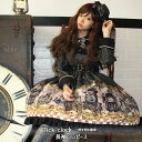 Tick clock 〜時を刻む歯車〜 長袖ワンピース(12083001) ☆ メタモルフォーゼ - metamorphose - ロリータ ロリィタ