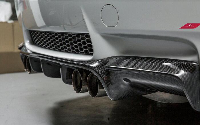 BMWE92E93M3リアバンパー用カーボンディフューザーDryCarbon本物ドライカーボンパフォーマンスGTSVスポイラー